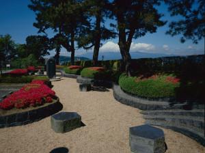 富士川町歌碑公園加工済